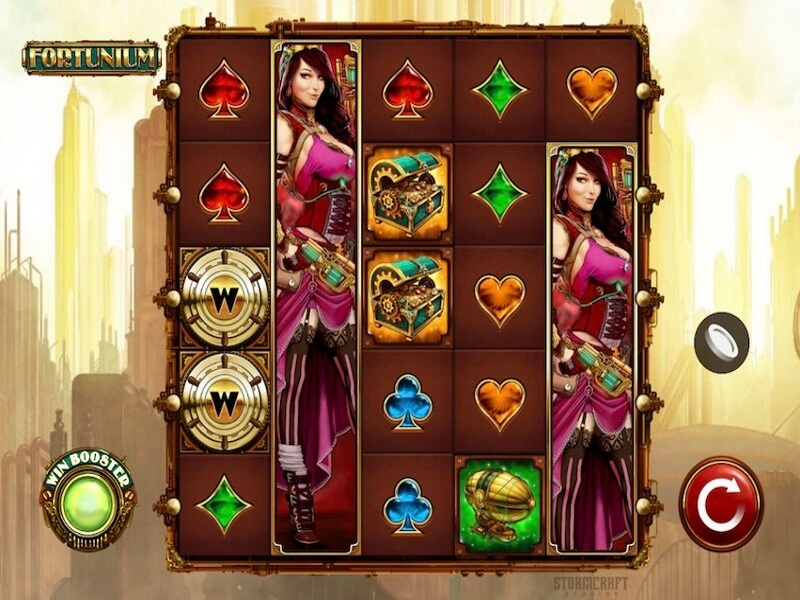 Fortunium Online  Slot Game