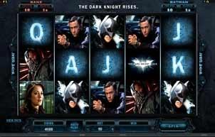 Batman dark knight rises online slot