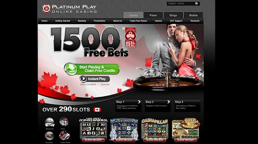 Platinum Play Free Bets