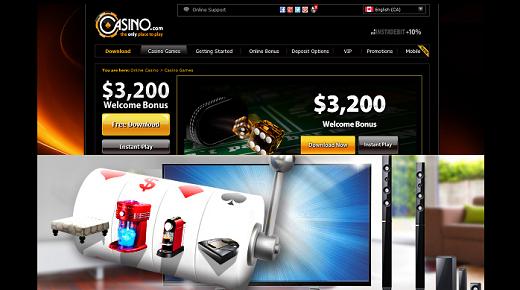 Casino.com HP