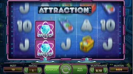 NEW Net Entertainment Attraction Slot