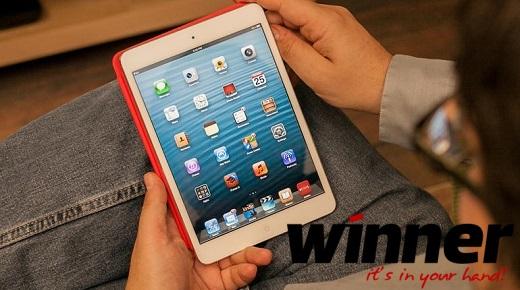 Win an iPad at Winner Casino
