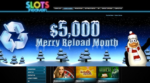 Merry Reload by Slots Heaven
