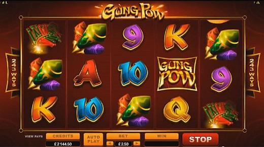 NEW Gung Pow Slot at Betway Casino