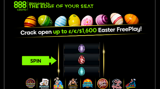 Crack open rewards with 888 casino