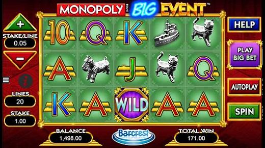 Monopoly Big Event Slots
