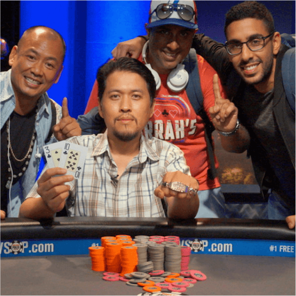 Global Casino Championship Title for Sean Yu