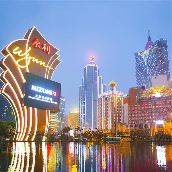 Macau's Casino Revenues Climb