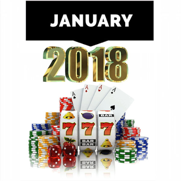 Top Casinos for January 2018