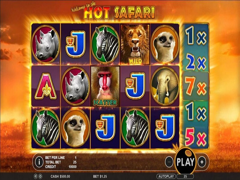 Hot Safari Slot