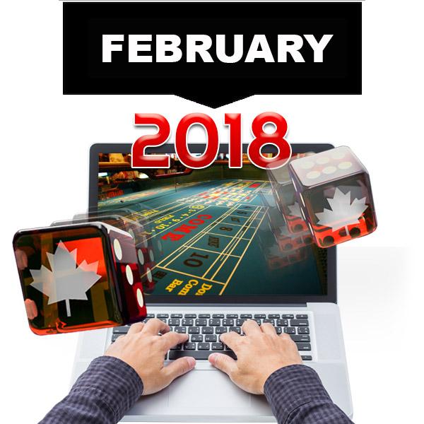 February Top Casinos