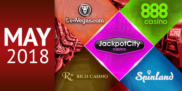 Best Casinos in May 2018