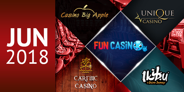 June 2018 Best Casinos