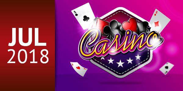 July Top 5 Casinos