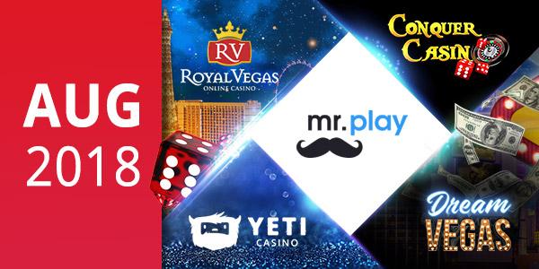 Top5 August Casinos