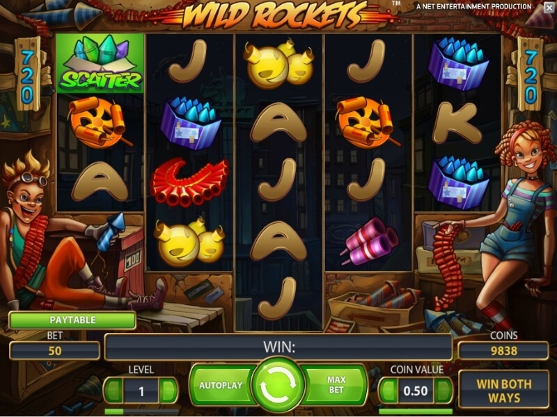 About the Wild Rockets Online Slot