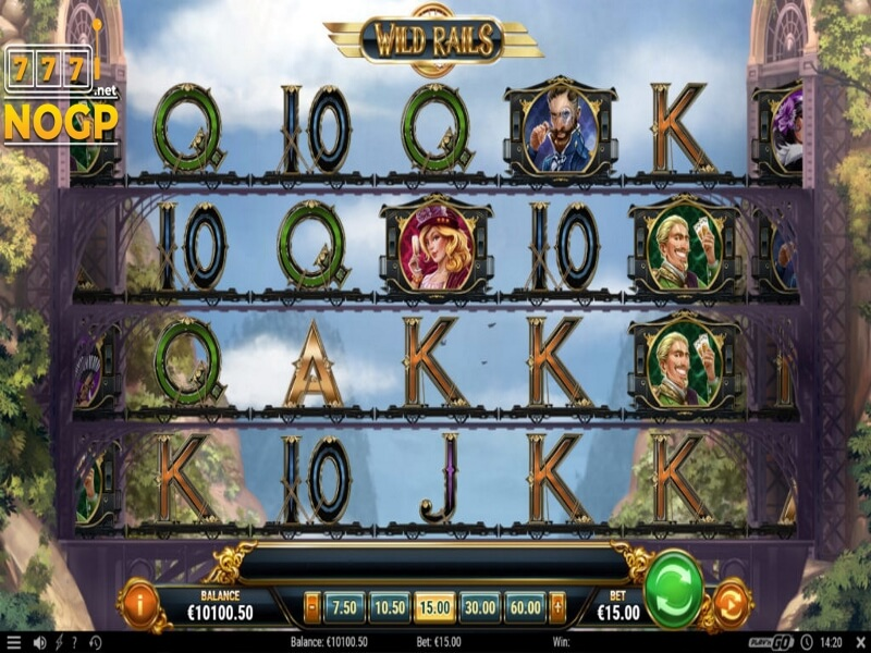About the Wild Rails Online Slot Game